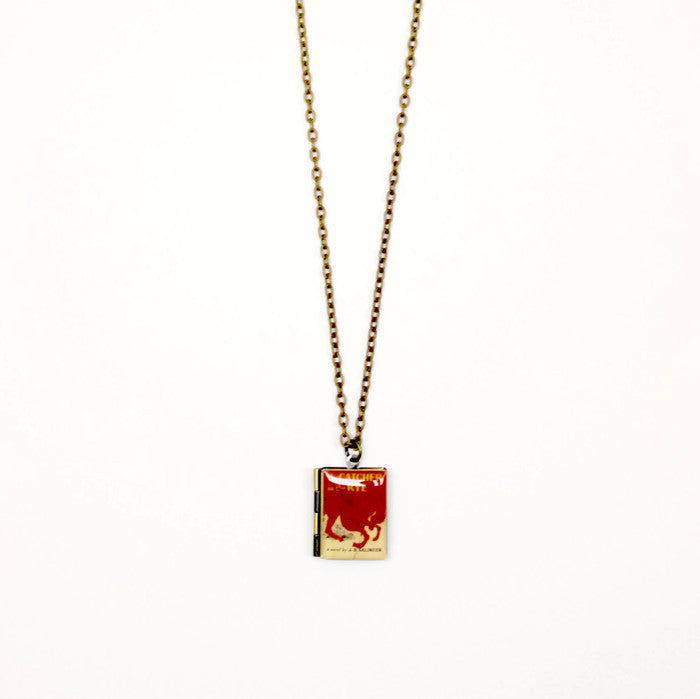 The Catcher in the Rye Book Necklace - LitLifeCo.