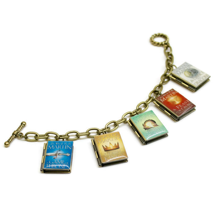 Game of Thrones Series Book Bracelet - Literary Lifestyle Company