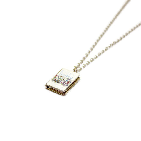 Everything Everything Book Necklace - LitLifeCo.