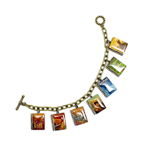 Harry Potter Series Book Bracelet - LitLifeCo.