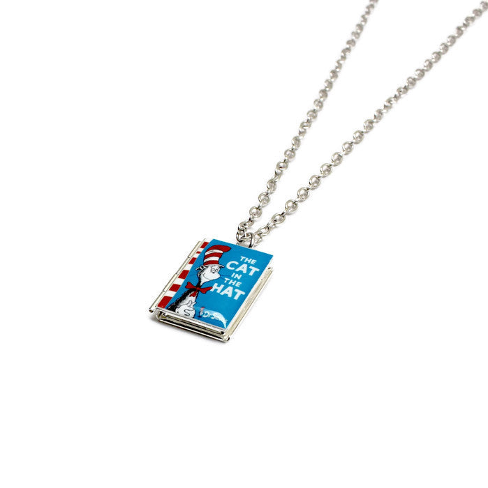 Dr. Seuss Collection Book Necklace - Literary Lifestyle Company