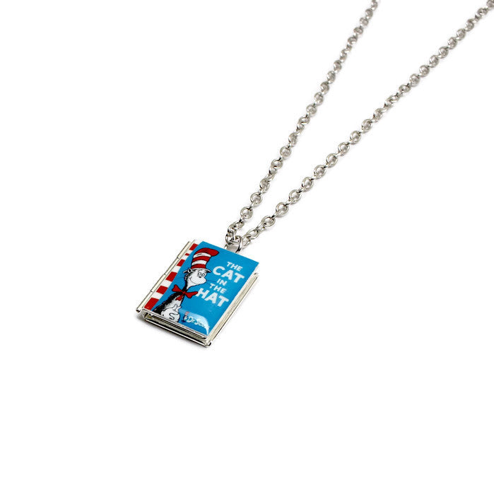 Dr. Seuss Collection Book Necklace - LitLifeCo.