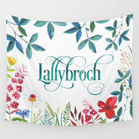 Lallybroch. Outlander Wall Tapestry - LitLifeCo.