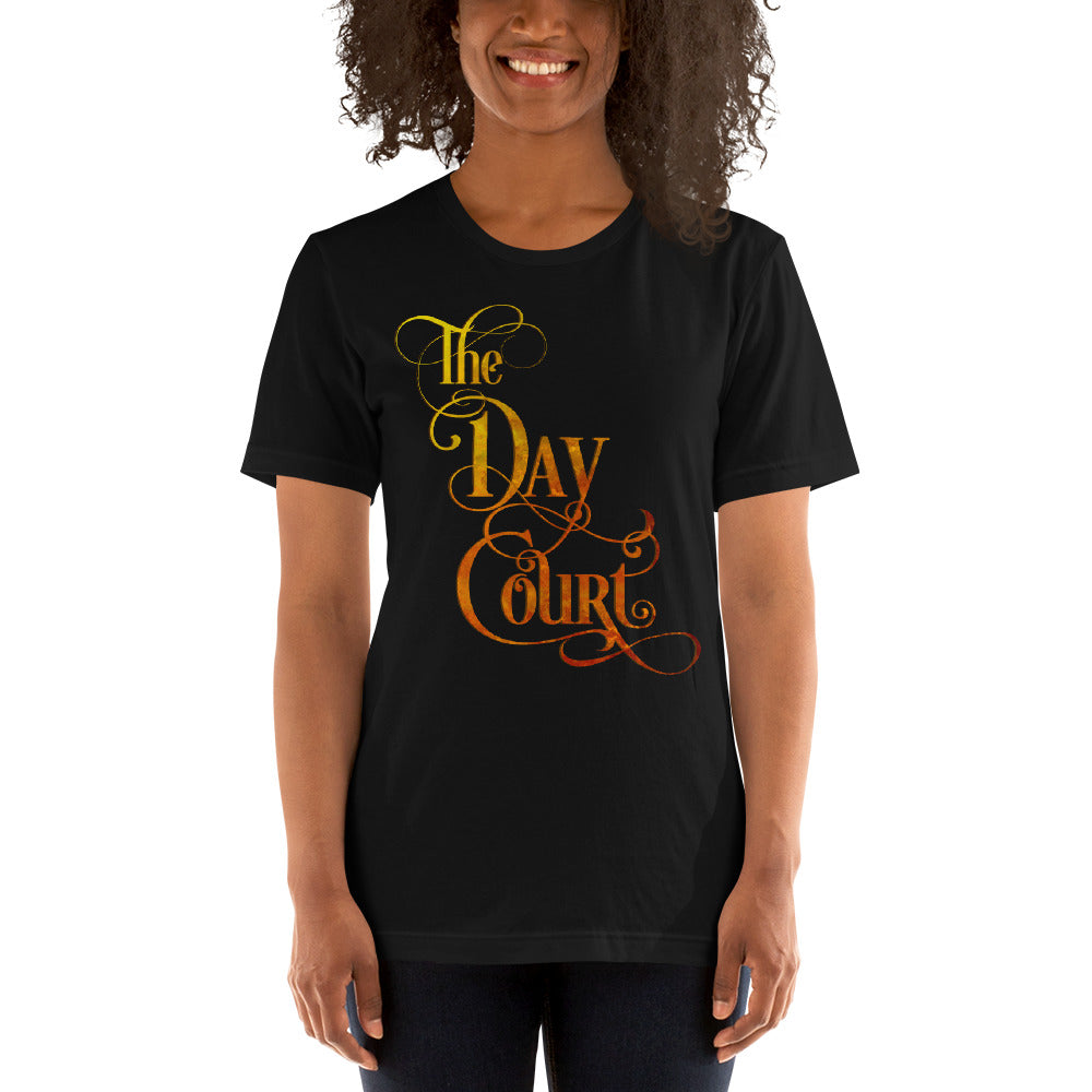The Day Court Unisex Short Sleeved Shirt - LitLifeCo.