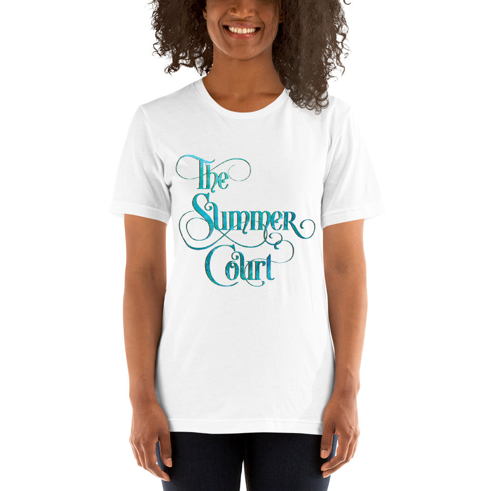 The Summer Court Unisex Short Sleeved Shirt - LitLifeCo.