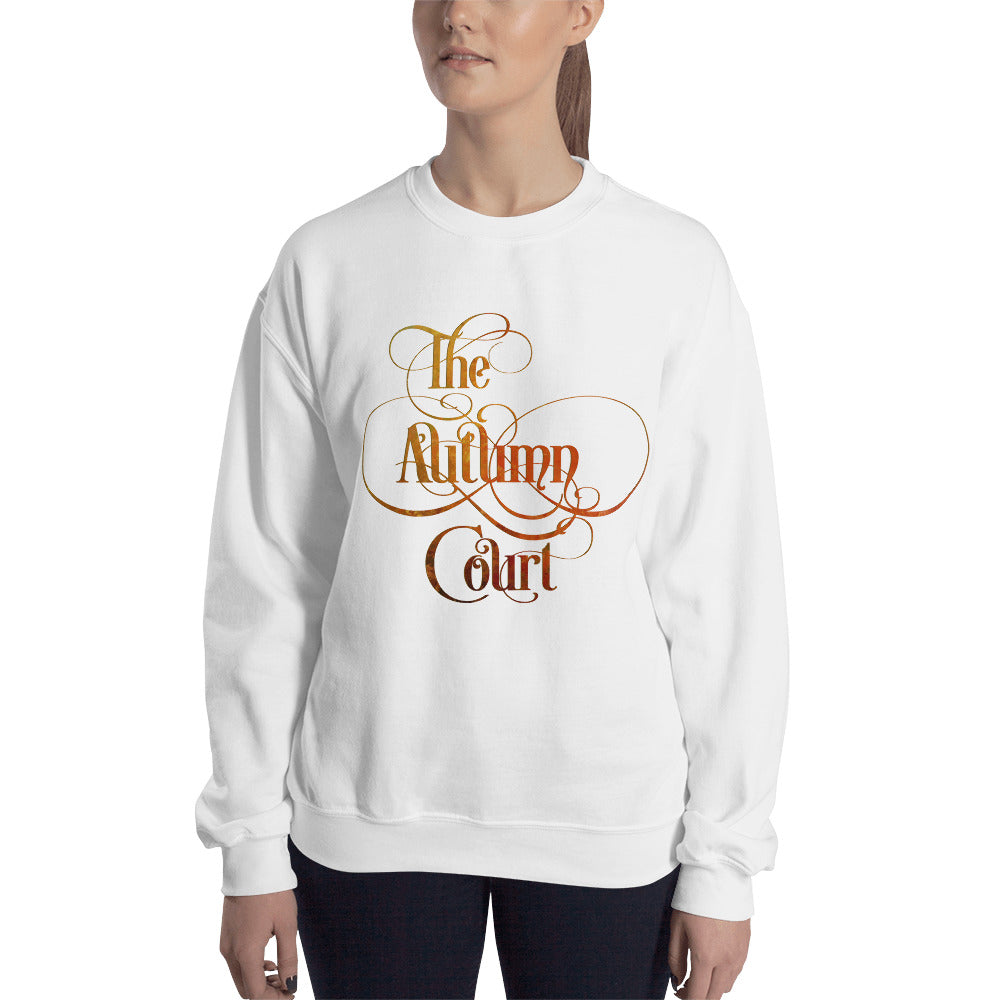 The Autumn Court Unisex Sweatshirt - LitLifeCo.