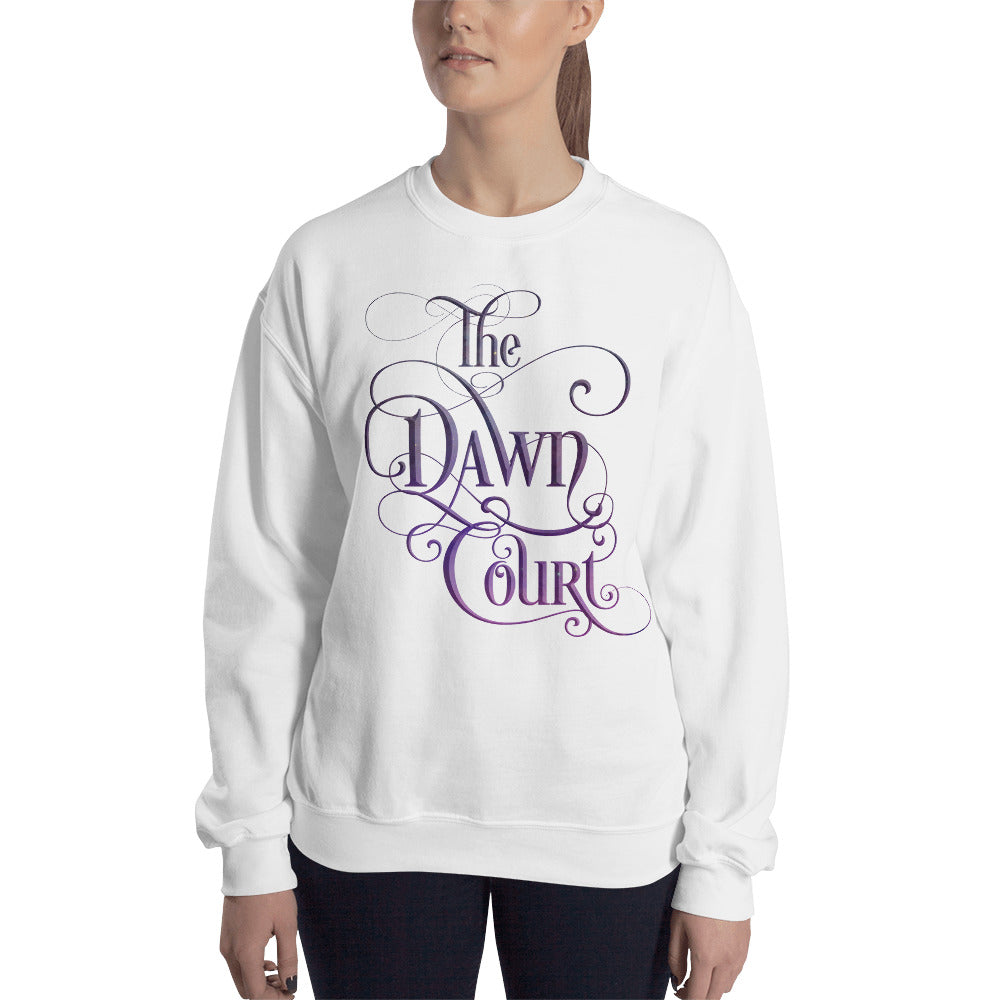 The Dawn Court Unisex Sweatshirt - LitLifeCo.
