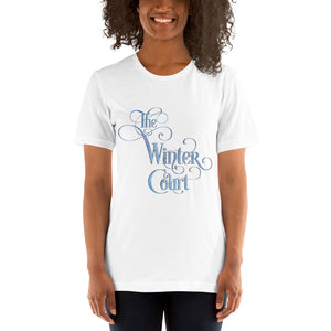 The Winter Court Unisex Short Sleeved Shirt - LitLifeCo.