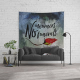 No mourners. No funerals. Six of Crows Quote Wall Tapestry