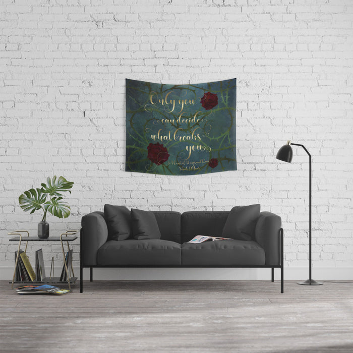 Only you... A Court of Wings and Ruin (ACOWAR) Quote Wall Tapestry