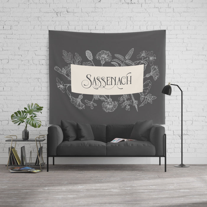 Sassenach Wall Tapestry - LitLifeCo.