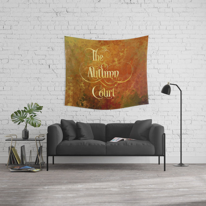 The Autumn Court Wall Tapestry - LitLifeCo.