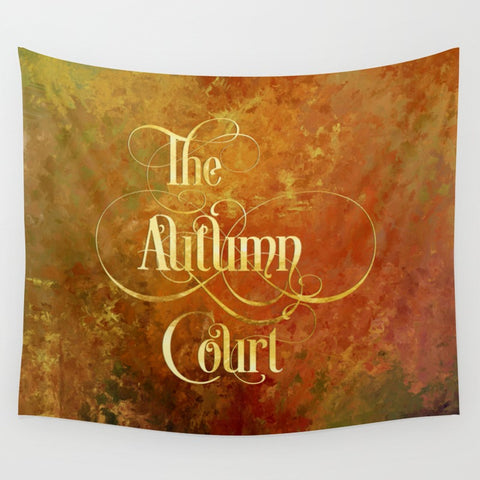 The Autumn Court Wall Tapestry