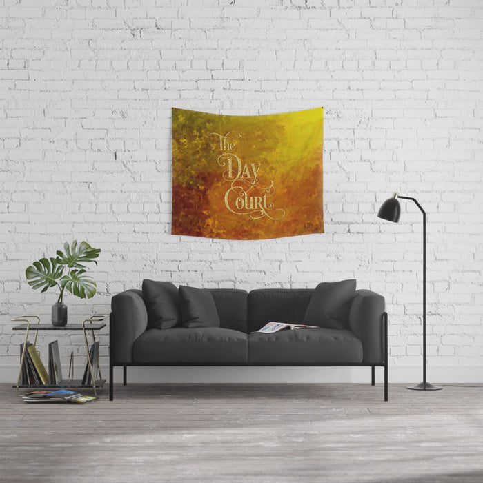 The Day Court Wall Tapestry
