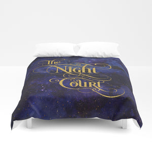 The Night Court Duvet Cover - LitLifeCo.