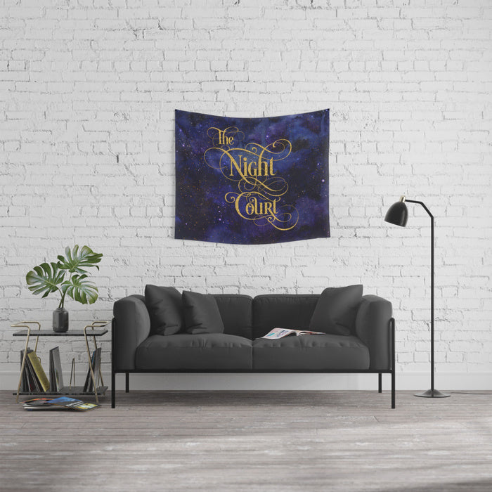 The Night Court Wall Tapestry - LitLifeCo.