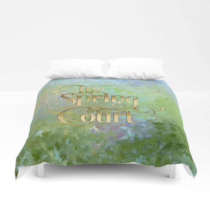 The Spring Court Duvet Cover - LitLifeCo.