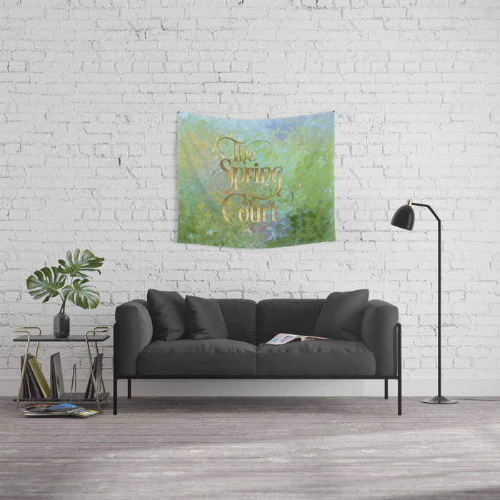 The Spring Court Wall Tapestry