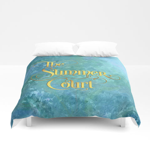 The Summer Court Duvet Cover - LitLifeCo.