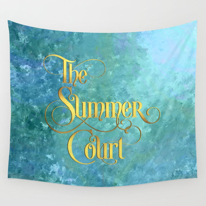The Summer Court Wall Tapestry - LitLifeCo.
