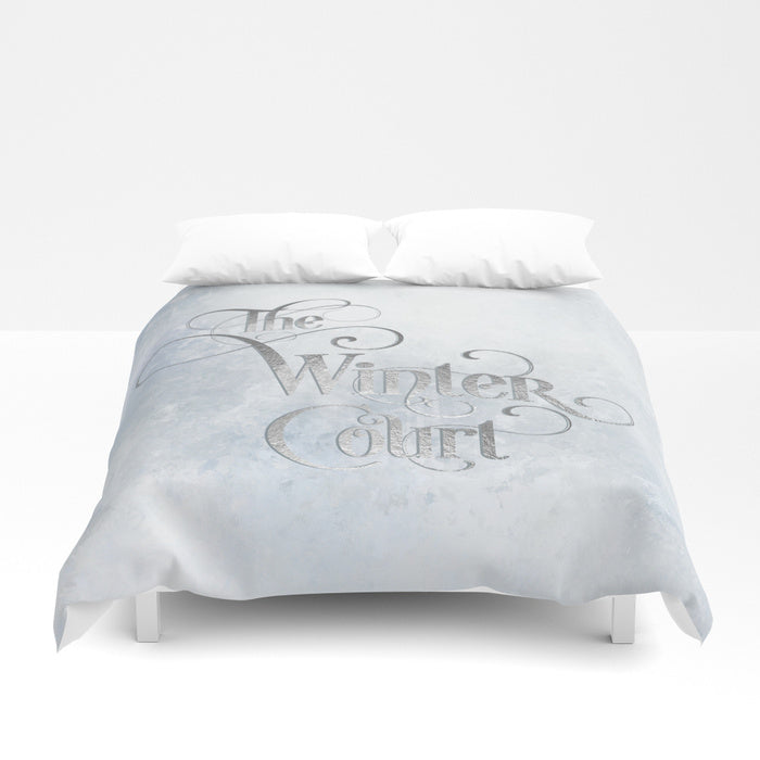 The Winter Court Duvet Cover - LitLifeCo.
