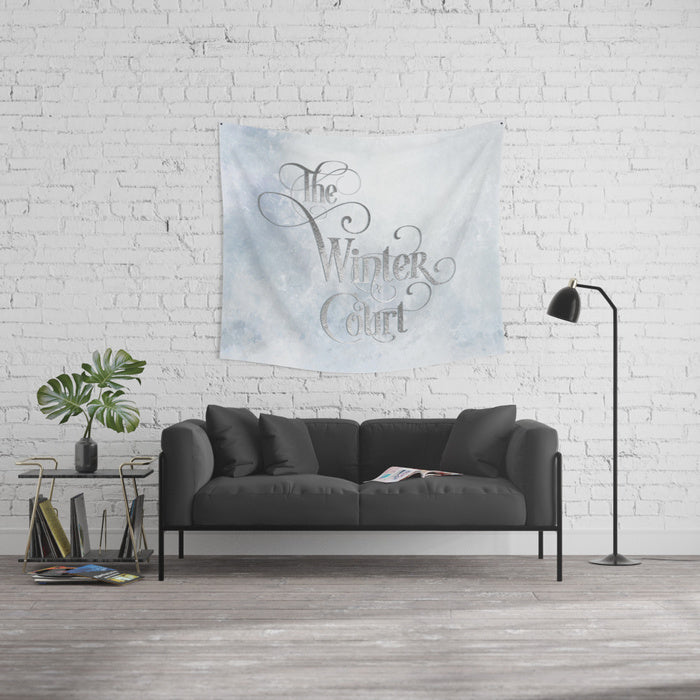 The Winter Court Wall Tapestry - LitLifeCo.
