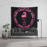 We're all mad here. Alice in Wonderland Wall Tapestry - LitLifeCo.