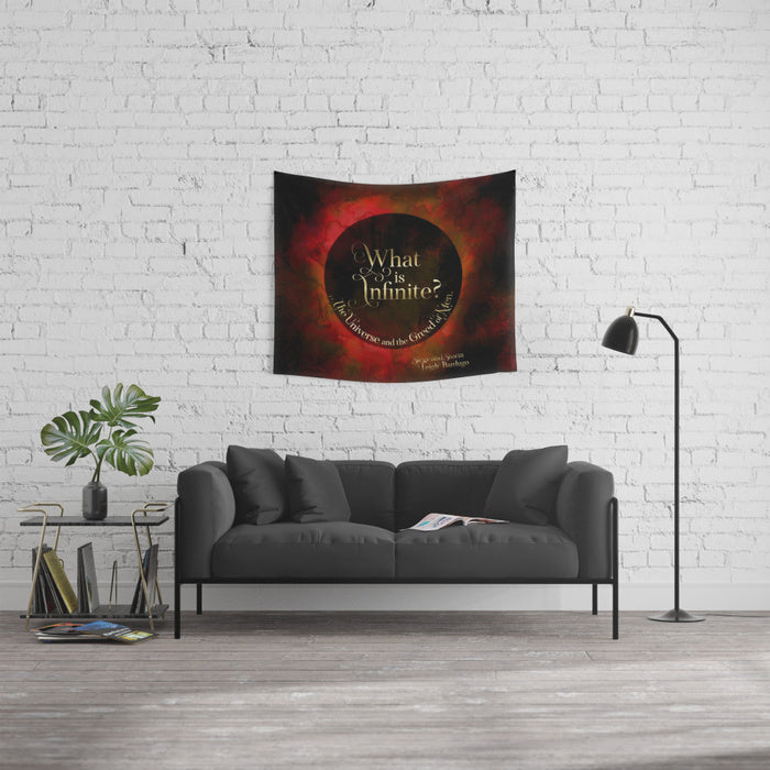 What is infinite? Siege and Storm Quote Wall Tapestry - LitLifeCo.