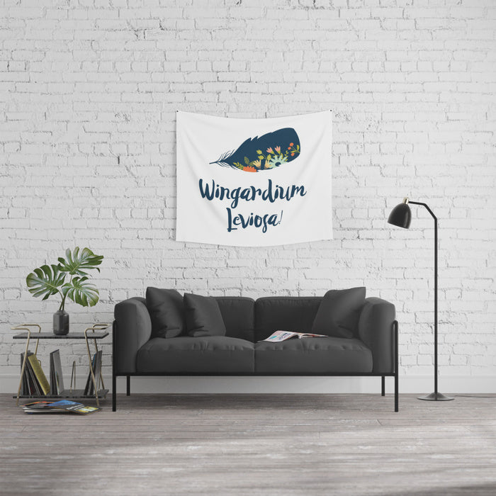 Wingardium Leviosa! Harry Potter Spell Wall Tapestry