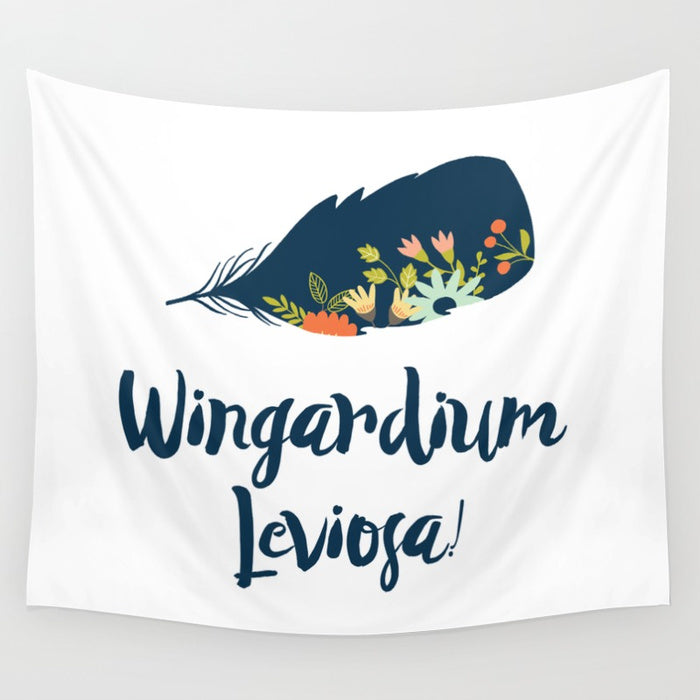 Wingardium Leviosa! Harry Potter Spell Wall Tapestry - LitLifeCo.