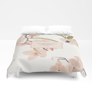 You must allow me... Mr. Darcy Quote Duvet Cover - LitLifeCo.