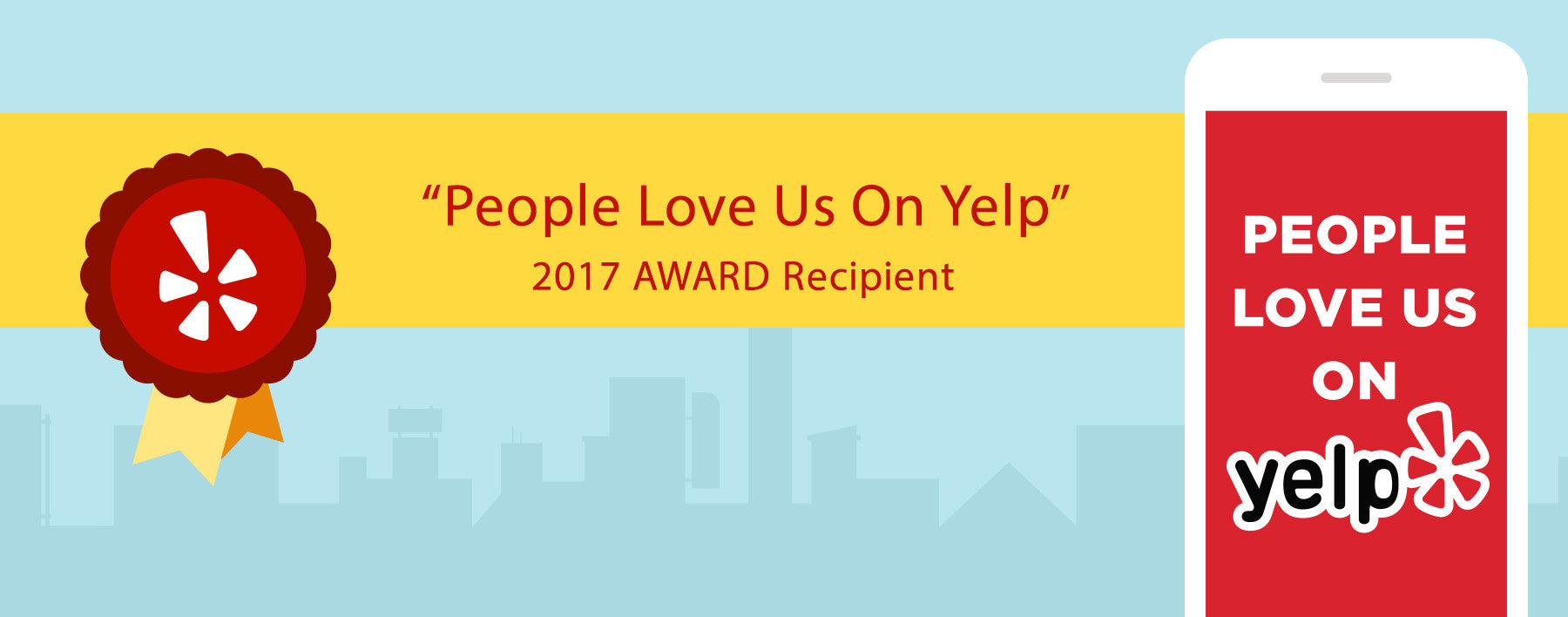 People Love us on Yelp 2017 Award Recipient WatchGuyNYC Customer Review