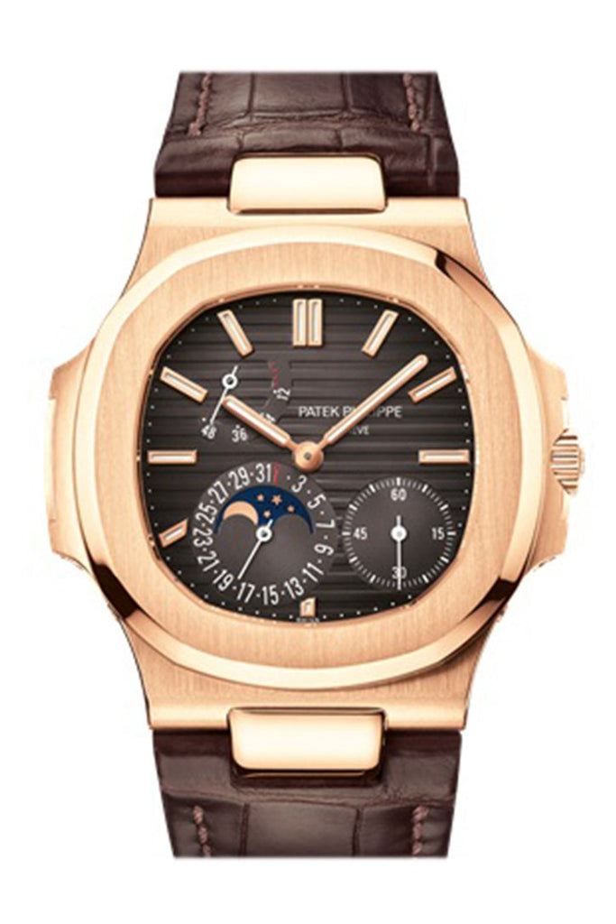 Patek Philippe Nautilus Brown Dial Watches 5712R-001 Watch