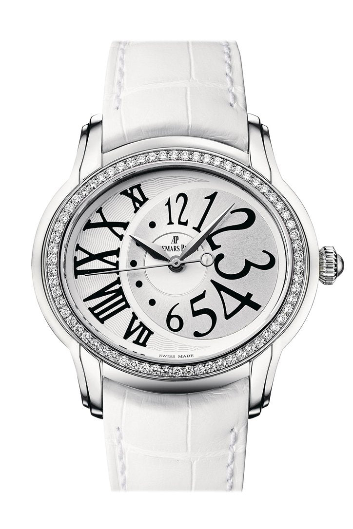 Audemars Piguet Ladies Millenary Automatic Watch 77301St.zz.d015Cr.01