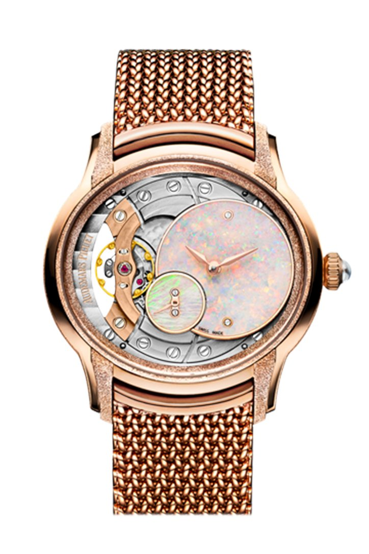 Audemars Piguet Millenary Frosted Gold Opal Dial Watch 77244OR.GG.1272OR.01