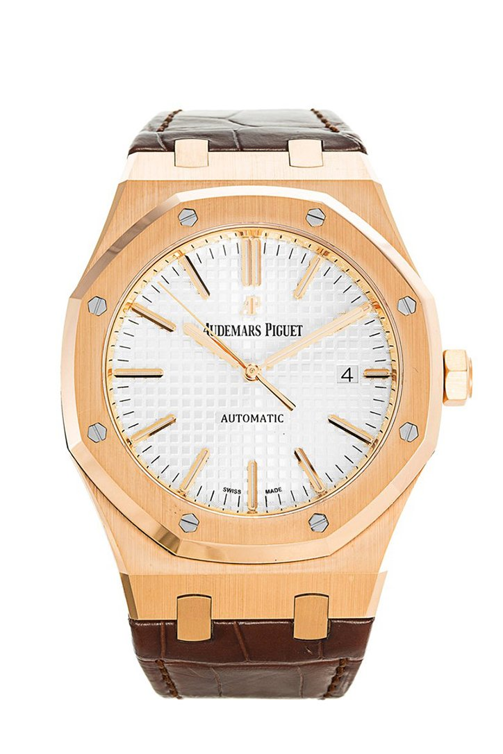 Audemars Piguet Royal Oak 18 Karat Rose Gold Automatic 15400Or.oo.d088Cr.01 Watch