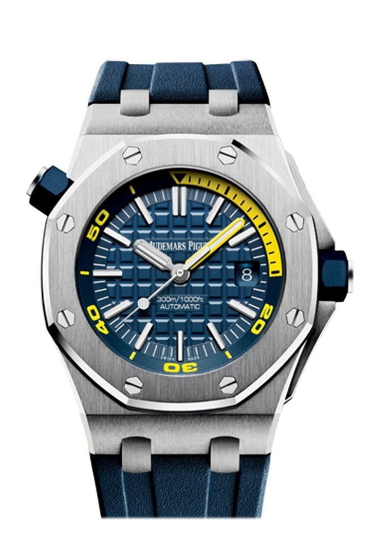 Audemars Royal Oak Offshore Blue Dial Automatic Mens Watch 15710St.oo.a027Ca.01