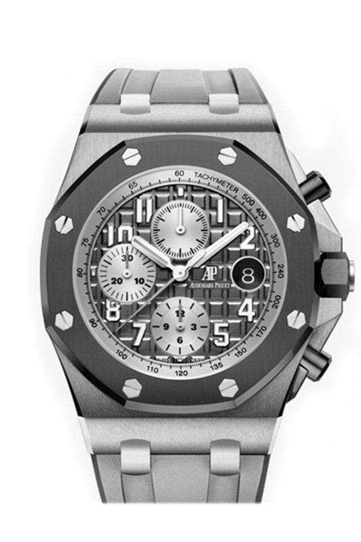 Audemars Piguet Royal Oak Offshore Chronograph Ghost Automatic Grey Dial Mens Watch