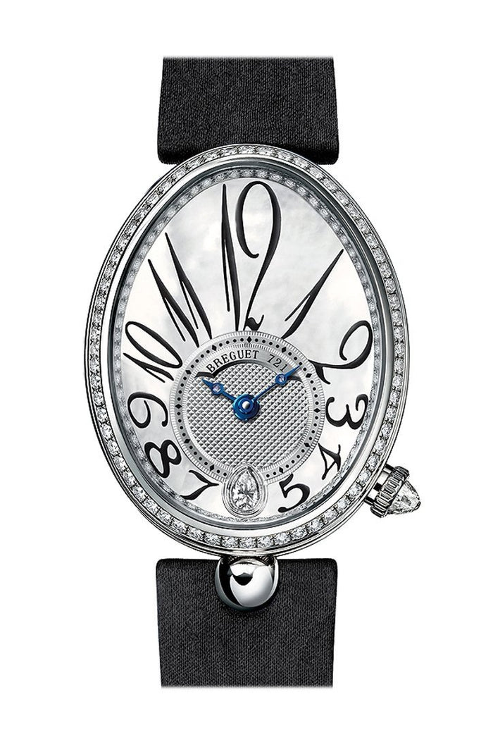 Breguet Reine De Naples Mother of Pearl Dial Diamond Automatic Ladies Watch 8918BB58864D00D