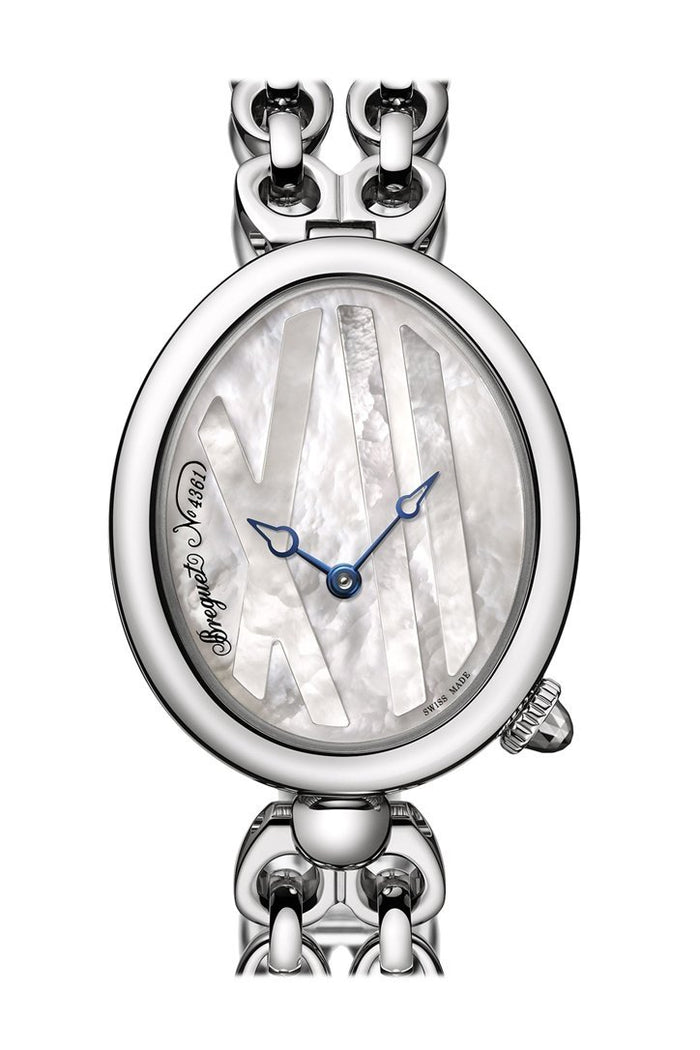 Breguet Reine de Naples Automatic Mini Ladies Watch 9807ST5WJ50