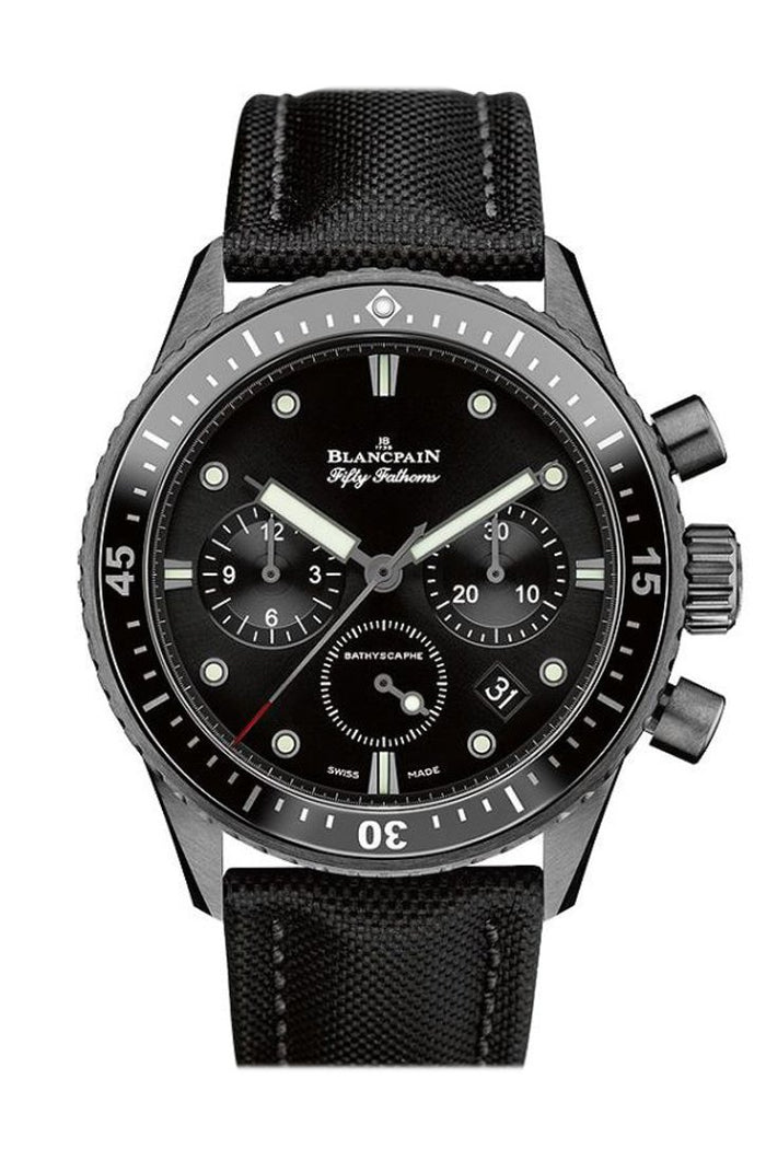 Blancpain Blancpain Fifty Fathoms Bathyscaphe Ceramic Chronogragh 5200-0130-B52A
