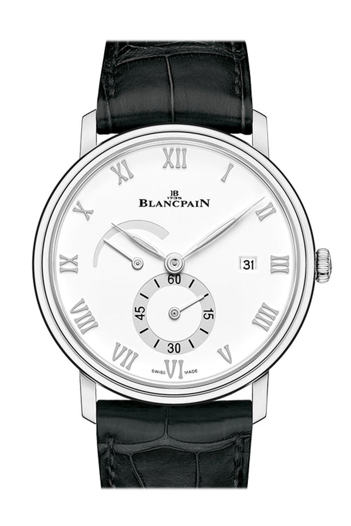 Blancpain Villeret Small Seconds Date and Power Reserve 6606A-1127-55B