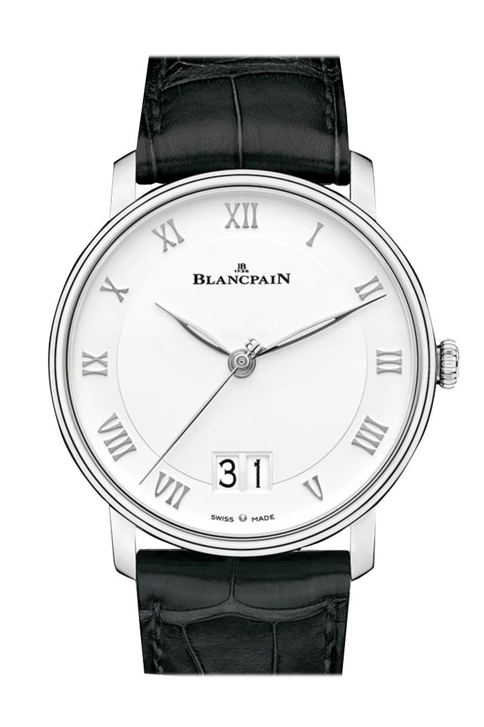 Blancpain Grande Date White Dial Automatic Men's Watch 6669-1127-55B