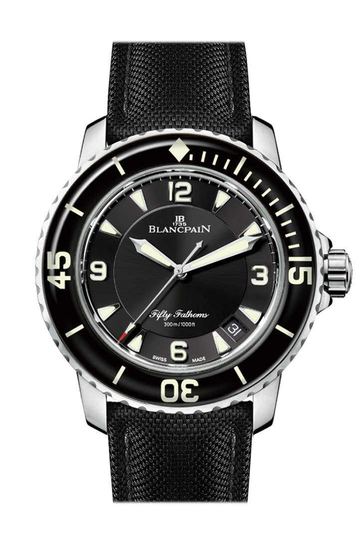 Blancpain Fifty Fathoms Automatic Mens 5015-1130-52B Watch