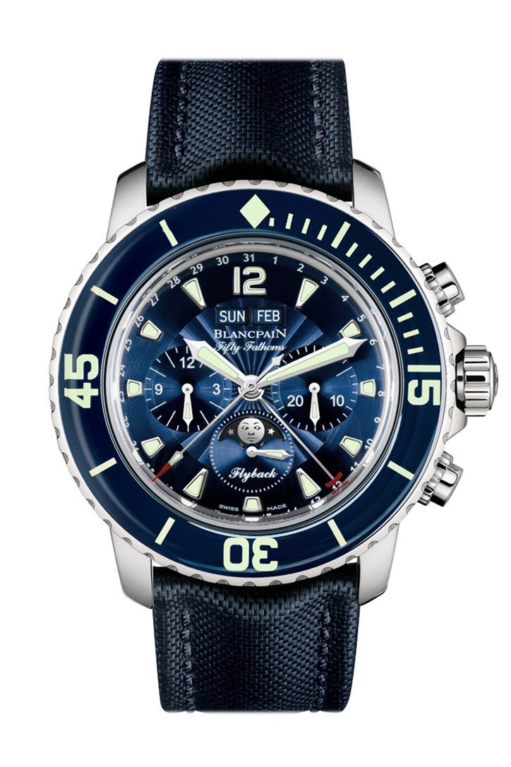 Blancpain Fifty Fathoms Chronograph Automatic Mens Watch 5066-1140-52B