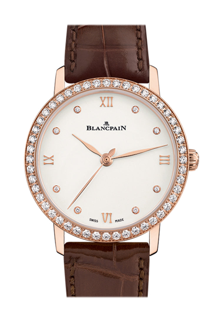 Blancpain Villeret Ultra Slim Automatic 29.2mm Ladies Watch 6104-2987-55A