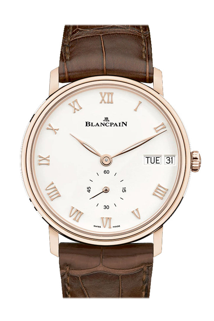 Blancpain Villeret Ultra Slim Day Date 40mm Mens Watch 6652-3642-55B
