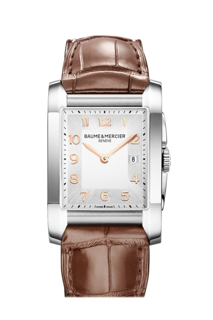 Baume And Mercier Hampton 10018 Silver Watch