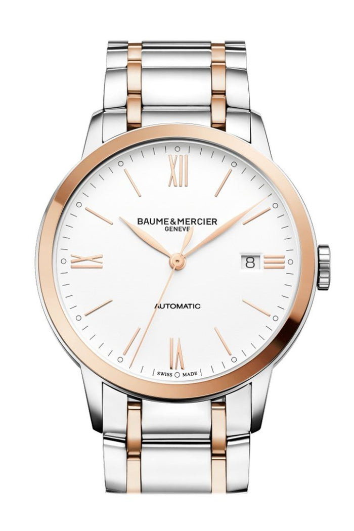 Baume & Mercier Classima Automatic Silver Dial Men's Watch 10314