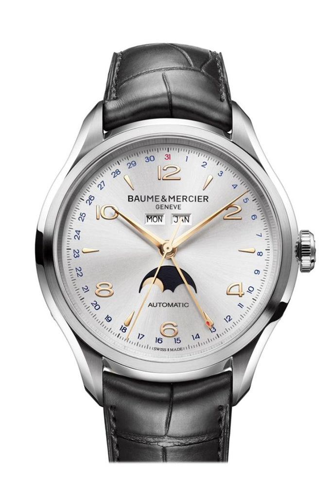 Baume & Mercier Clifton Moonphase Watch 10055